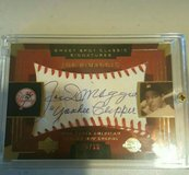 Sweet Spot Joe Dimaggio Autograph 2004 in Fairfield, California