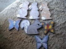 Squirrel Butterflies and Rabbits in Macon, Georgia