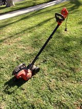 Electric edger in Los Angeles, California