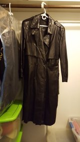 Men's leather duster in Kingwood, Texas