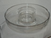 Crystal Chip and Dip bowl set in Ramstein, Germany