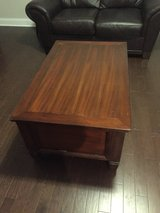 Wood Coffee table chest and two end tables in Camp Lejeune, North Carolina