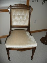 Antique chair in Bartlett, Illinois