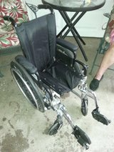 Small wheel chair in Fort Riley, Kansas