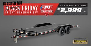 Big Black Friday Sale on Select PJ and Load Trail Trailers in Alamogordo, New Mexico
