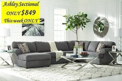 ** BLACK FRIDAY SPECIAL ** ASHLEY 3 PIECE SECTIONAL ** LIMITED in Fort Campbell, Kentucky