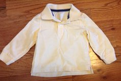 Toddler boys Children's Place yellow long sleeve polo shirt size 4T in Macon, Georgia
