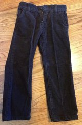 Baby/Toddler boys Crazy 8 dark brown corduroy jeans size 4T in Macon, Georgia