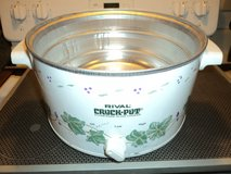 Rival 4 QT Crock Pot/Slow Cooker Replacement Heater Base Only in Aurora, Illinois