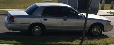 2001 Crown Victoria in Lawton, Oklahoma
