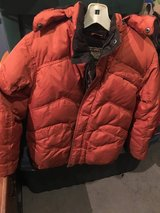 Down jacket in Morris, Illinois