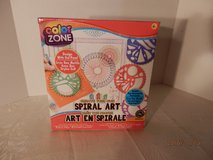 Brand New Color Zone Spiral Art in Oswego, Illinois