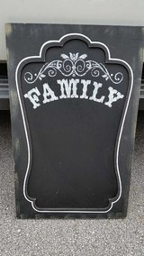 "Distressed ""Family"" Chalkboard in Cherry Point, North Carolina"