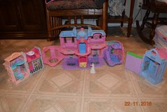 FISHER PRICE SWEET STREETS GRAND HOTEL, DANCE STUDIO, AND PLAYHOUSE + DOLL in Lockport, Illinois