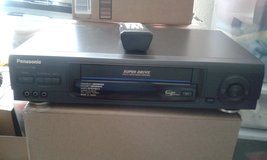 Panasonic VHS Player w/Remote in Alamogordo, New Mexico