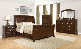 Mega Bed Set -  New Model -  price includes delivery and set-up - as shown - Monthly Payment Plans in Ansbach, Germany