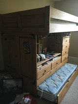 Solid wood bunkbeds in Fort Gordon, Georgia