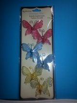 NEW!  Recollection Butterfly w/Glitter Embellishments in Oswego, Illinois