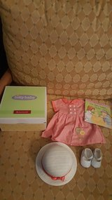 American girl bitty baby birthday outfit new in Aurora, Illinois