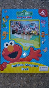 Sesame Street Busy Buddies magnet book in Houston, Texas
