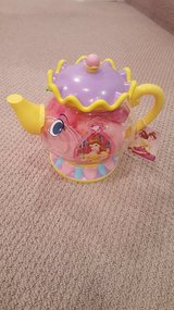 Disney Beauty and the Beast Tea set in Naperville, Illinois