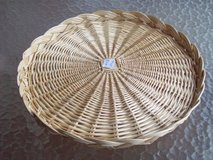 Round Wicker Tray in Perry, Georgia