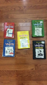 5 Diary Of A Wimpy Kid Books in Naperville, Illinois