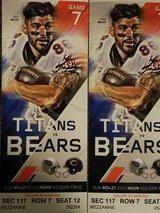 Chicago bears tickets in Bolingbrook, Illinois