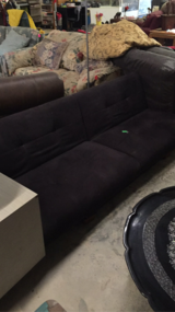 Black futon in Leesville, Louisiana