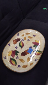 Fall serving platter in Fort Polk, Louisiana