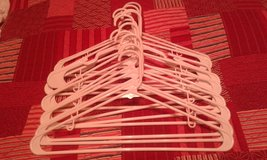 White plastic hangers-Set of 15 in Alamogordo, New Mexico
