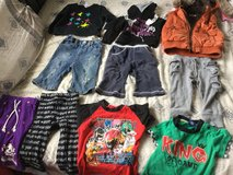 Boys pants, jeans, T shirts, sweat shirts and vest in Okinawa, Japan