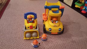 Fisher Price Automatic Dump Truck and Bulldozer in Naperville, Illinois