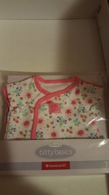 American girl bitty baby bodysuits(2) in Westmont, Illinois