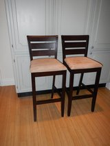 Two Bar Stools in Lakenheath, UK
