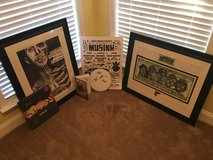 Autographed Travis Barker and Blink 182 memorabilia in Savannah, Georgia