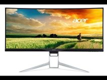 """xr341ck 34"""" Curved Monitor Free Sync 3440x1440 in Houston, Texas"""