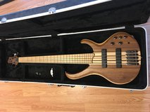 Ibanez BTB 5 string bass guitar w/hard case in Alamogordo, New Mexico
