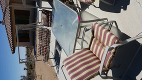 Patio set and swing in 29 Palms, California