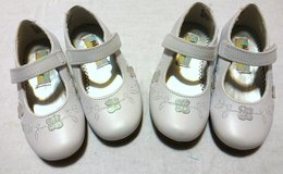 NEW White Dress Shoes size 7 Toddler in Sandwich, Illinois