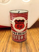 Vintage Phillips 66 Motor Oil Can Bank in Naperville, Illinois