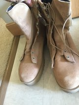 New never used Temperate weather army boots in Okinawa, Japan
