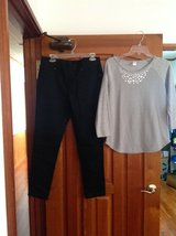 Jeggings - 12 Petite & sparkly shirt size M in Bolling AFB, DC