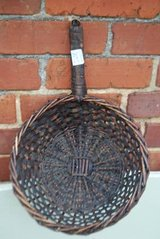 Woven Round Basket With One Handle in Warner Robins, Georgia