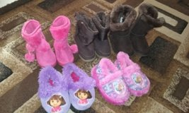 little girl boots......size 4,5,6 and 5/6 in Warner Robins, Georgia