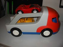 Little Tikes Car Hauler with 2 cars. $7 in Morris, Illinois