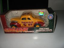 "1940 Ford Modified Stocker. 1/25 diecast ""Redskins"" by Ertl in Morris, Illinois"