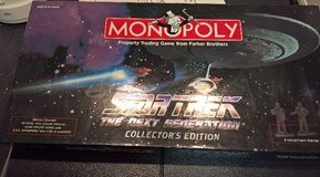 """Star Trek Monopoly """"The Next Generation Collector's Edition"""" Year 1998 in Ramstein, Germany"""