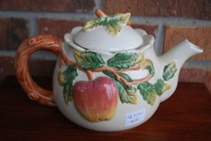 Apple Teapot With Branch and Leaf Detail in Macon, Georgia