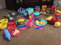 Little Tikes Food, Dishes, Place Matts, Utensils in Bolingbrook, Illinois
